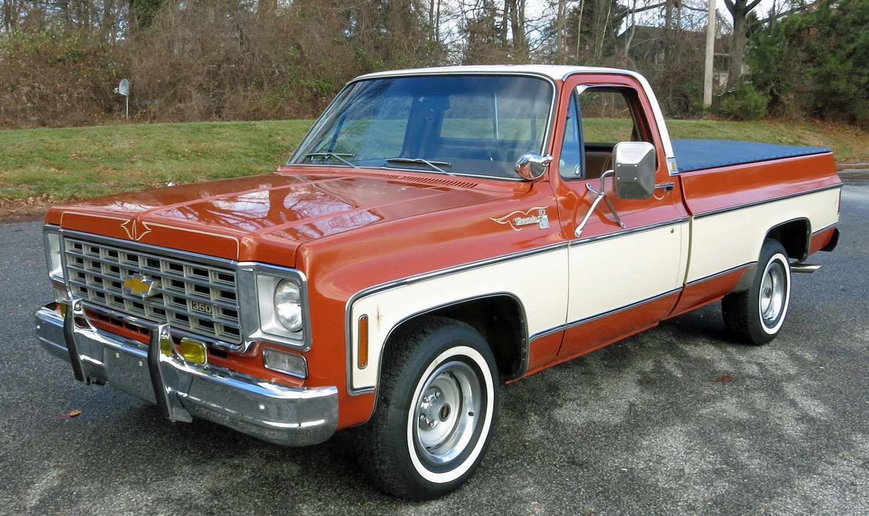 1976 chevy truck wheelbase