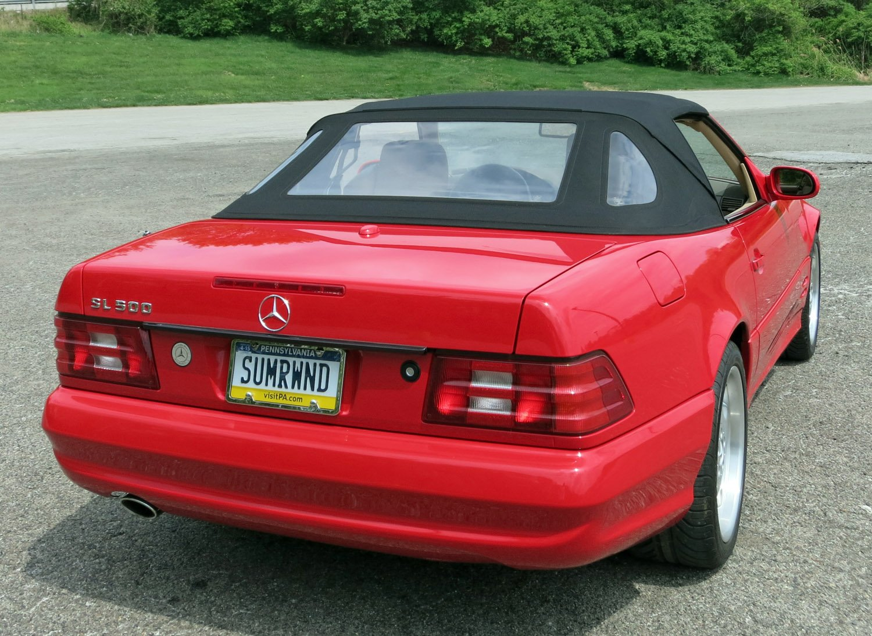 2001 Mercedes-Benz SL500