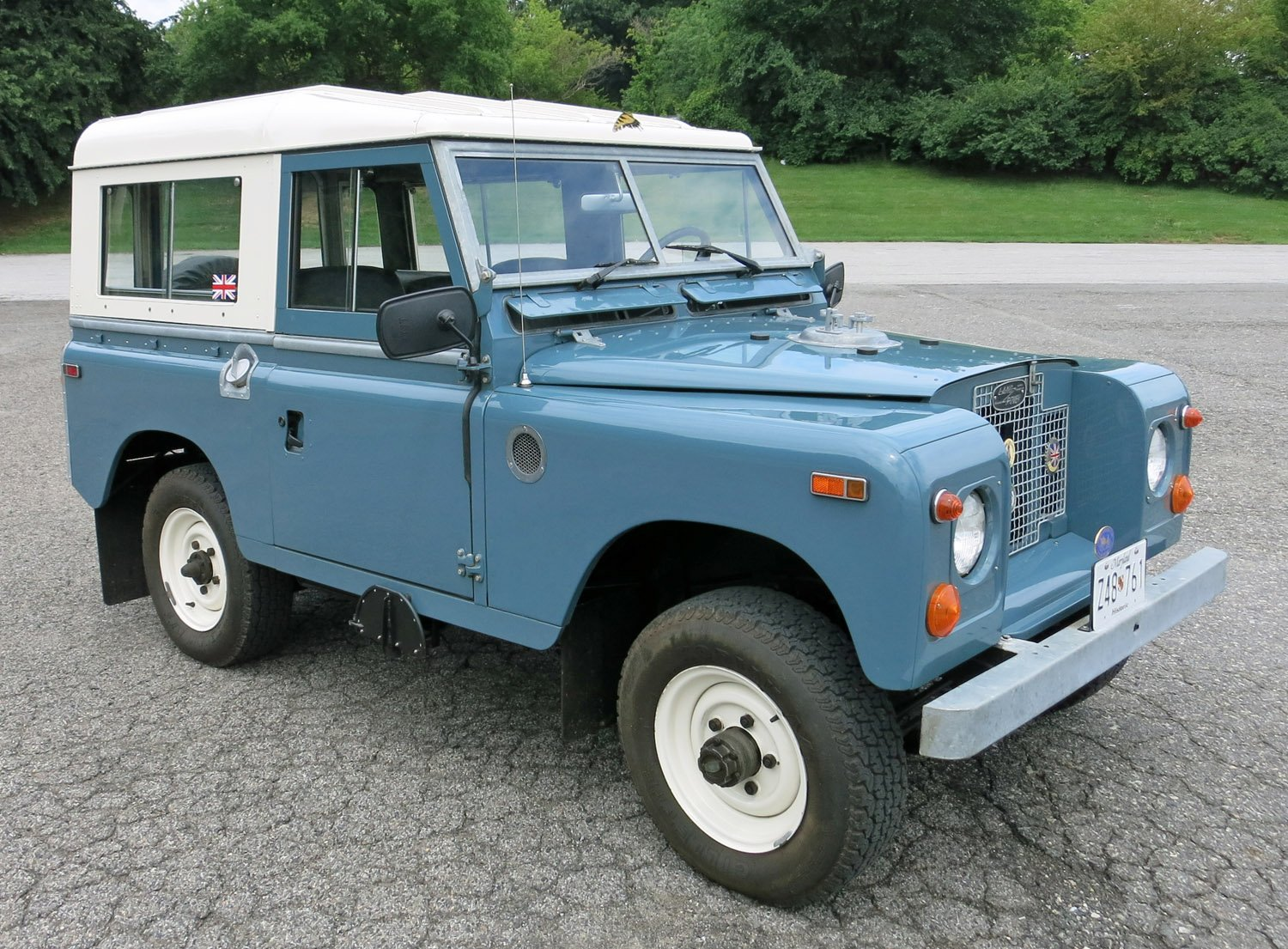 1970 Land Rover Series IIA