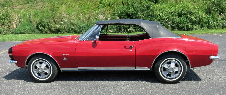 1967 Chevrolet Camaro | Connors Motorcar Company