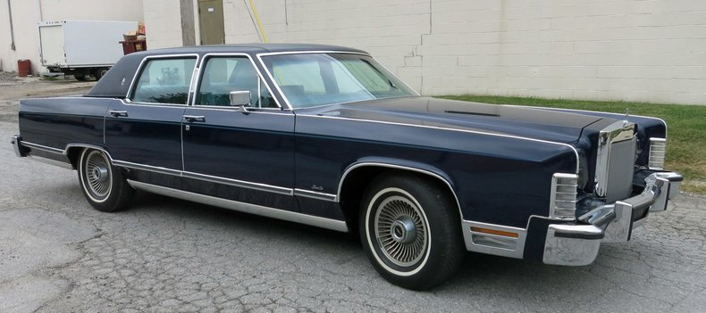 1978 Lincoln Town Car Connors Motorcar Company