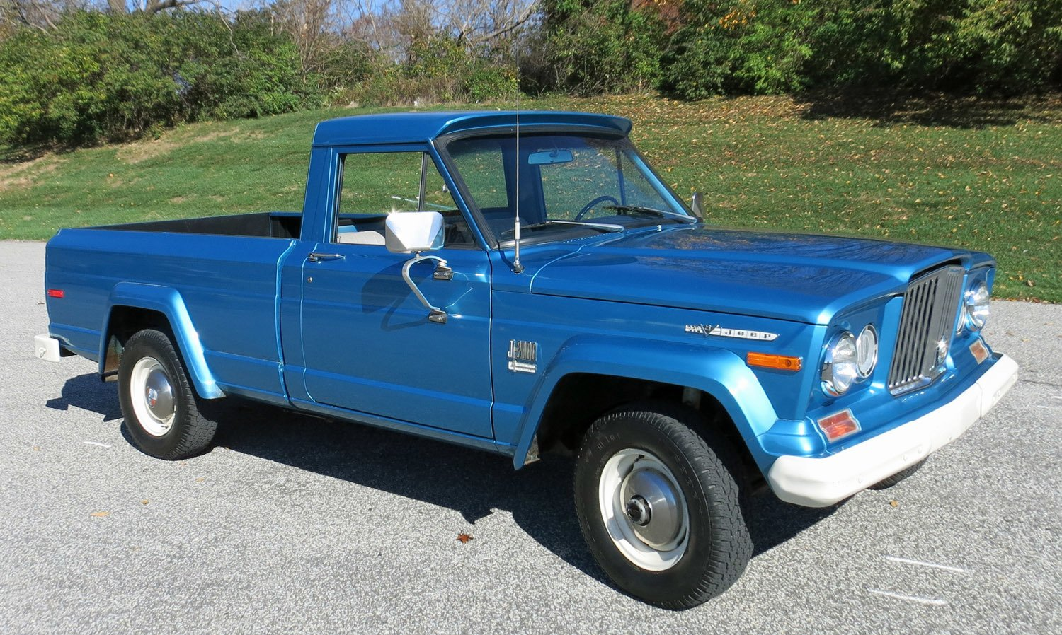 1973 jeep j series pick up 4x4