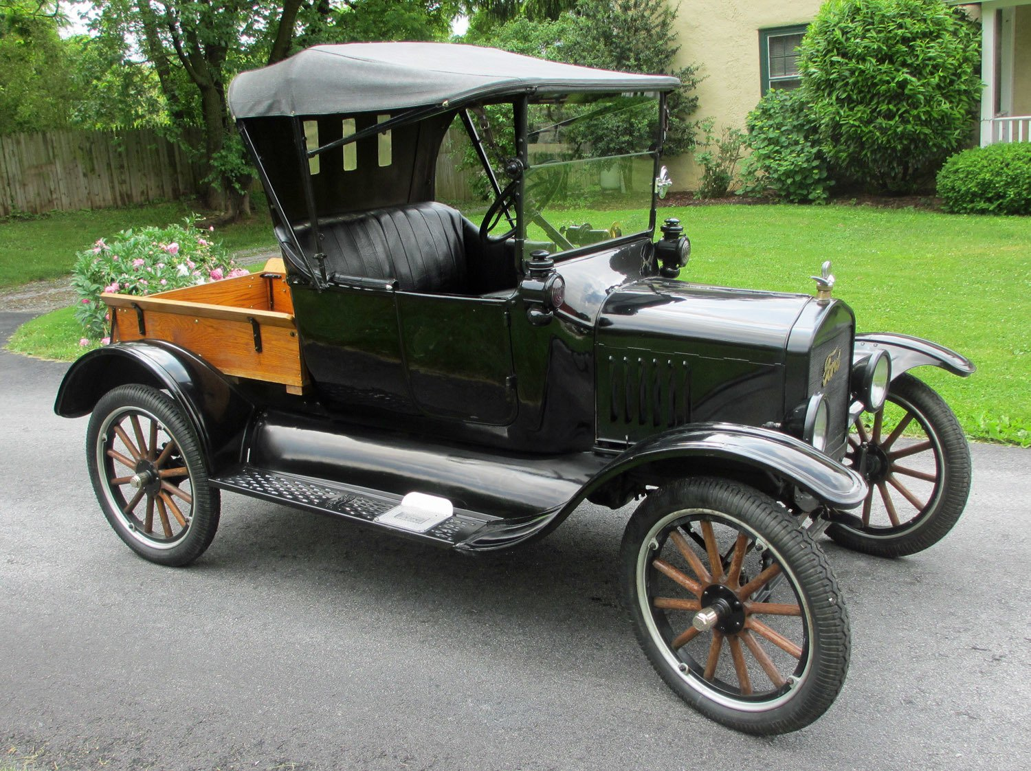 Ready to Paint Wooden Model T Car