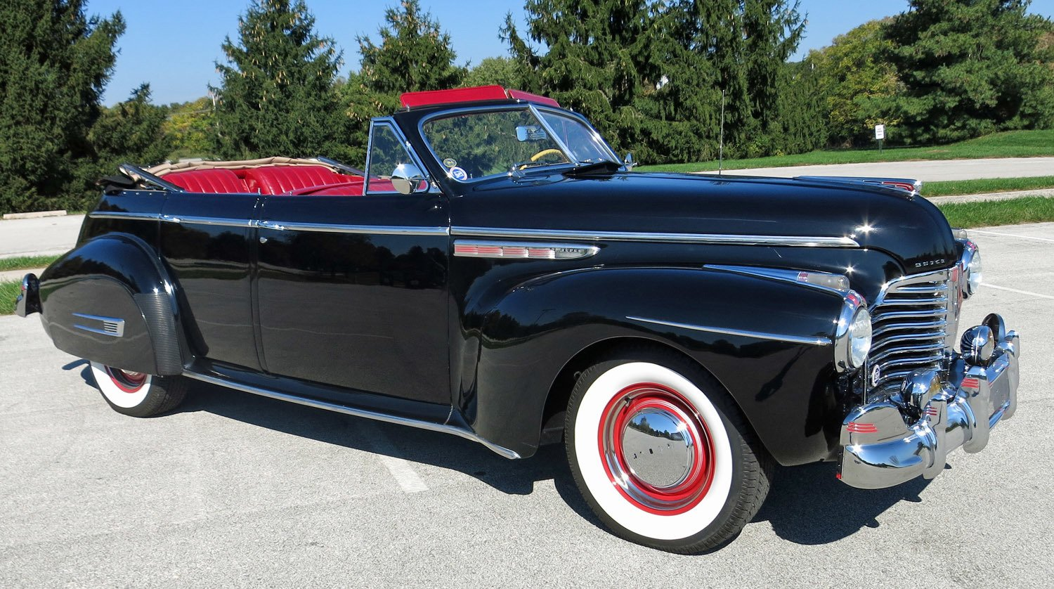 1941 Buick Super Connors Motorcar Company Ford Coupe Convertible