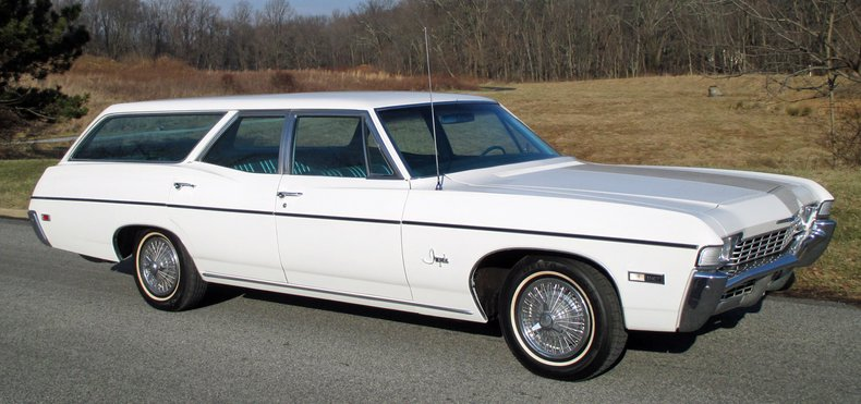 1968 chevrolet impala wagon