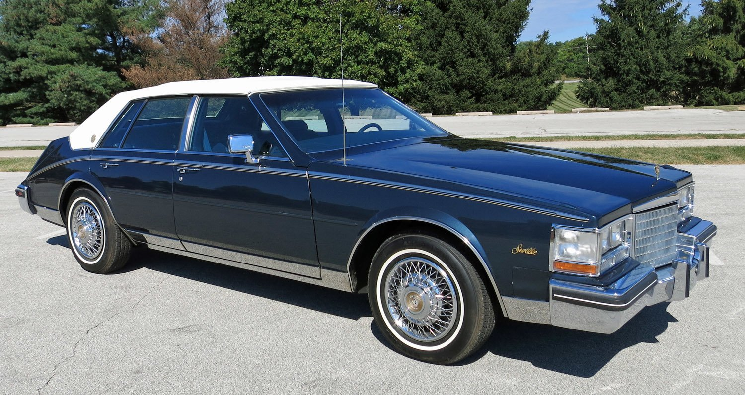 1985 cadillac seville commemorative edition