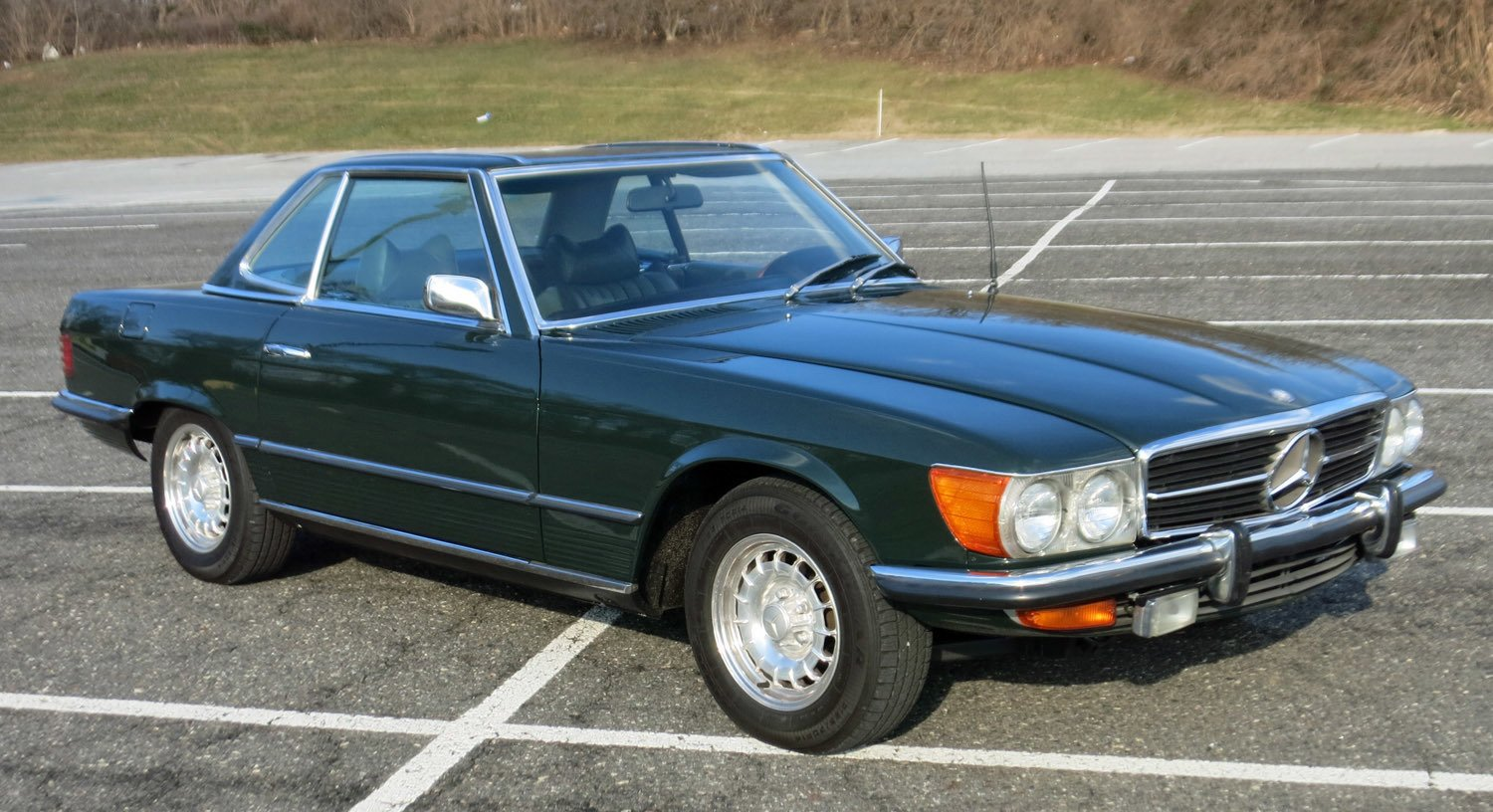 1972 mercedes benz 350 sl