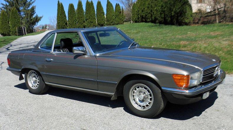 1983 mercedes benz 500 sl