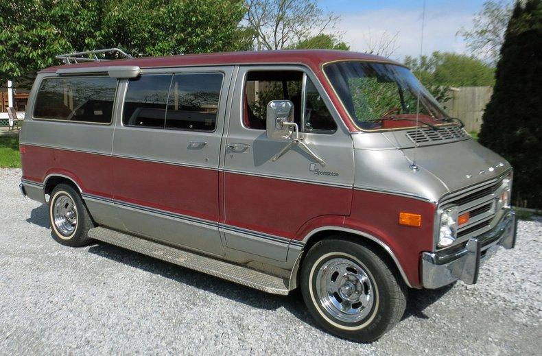 1978 dodge d200 sportsman van