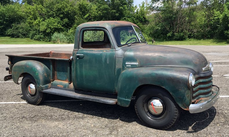 1949 chevrolet 3 window pickup