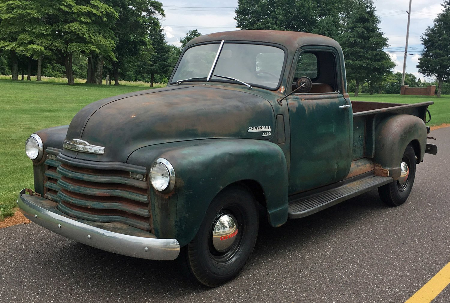 1949 Chevrolet 3-Window Pickup