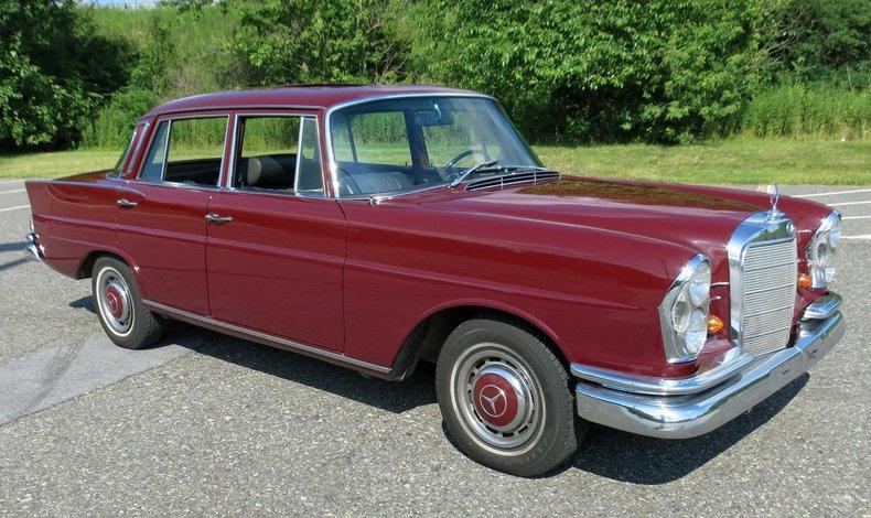 1966 mercedes benz 230 s