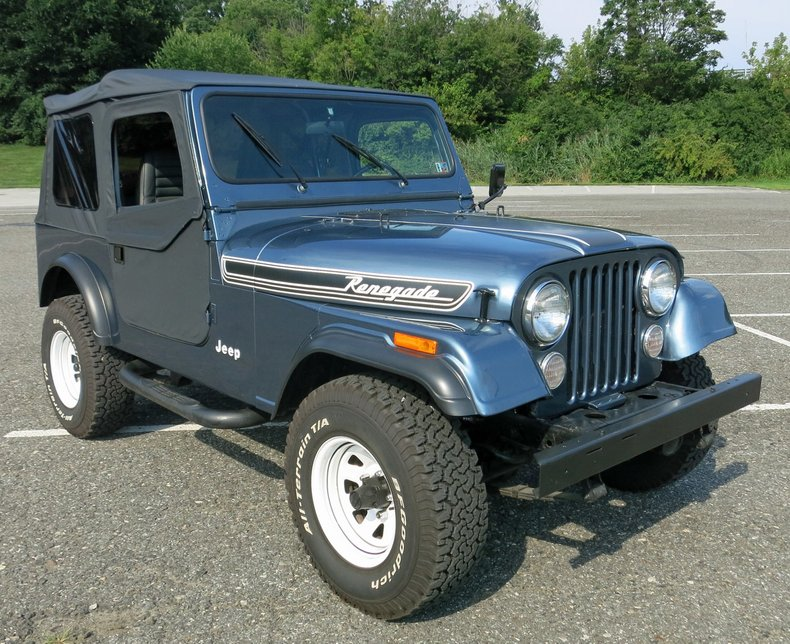 1986 Jeep CJ 7 For Sale