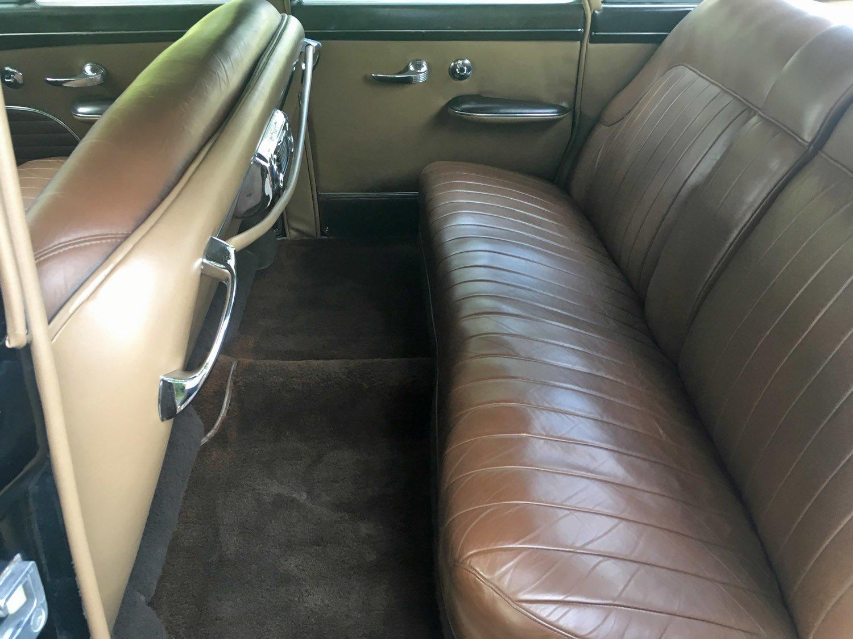 1950 Lincoln Continental Interior