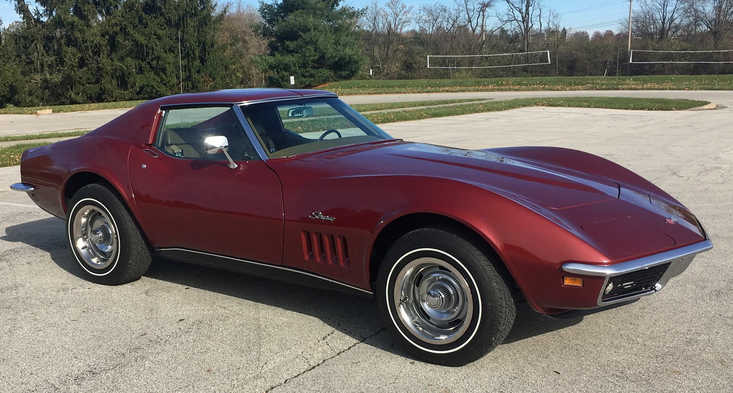 Corvette Stingray 1969 >> 1969 Chevrolet Corvette Connors Motorcar Company