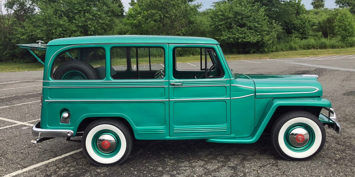 1961 Willys Utility Wagon