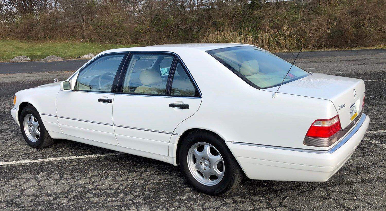 1999 Mercedes-Benz S420