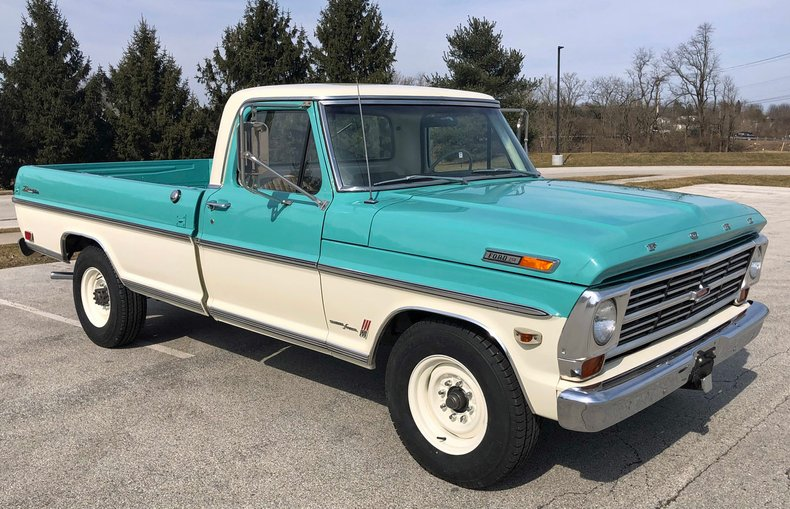 1968 ford f250 camper special