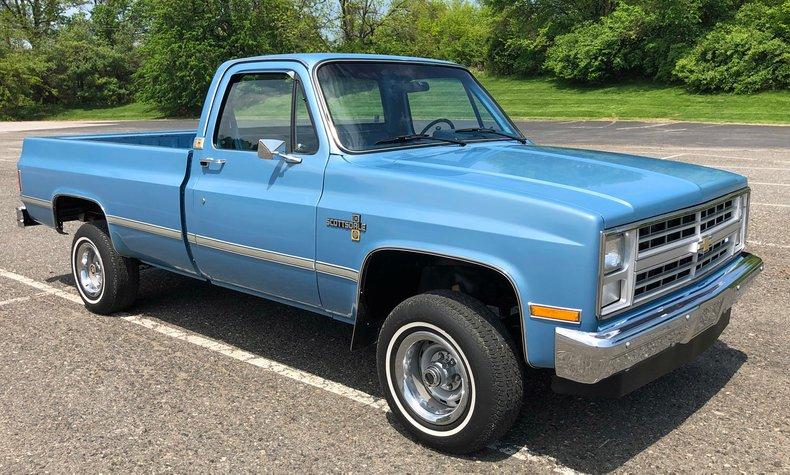 1987 Chevrolet K-10 For Sale