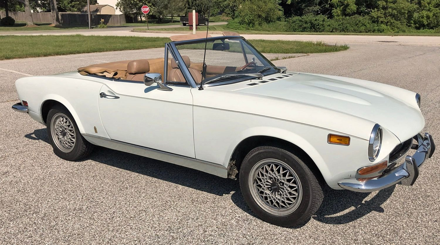 1974 Fiat 124 Connors Motorcar Company