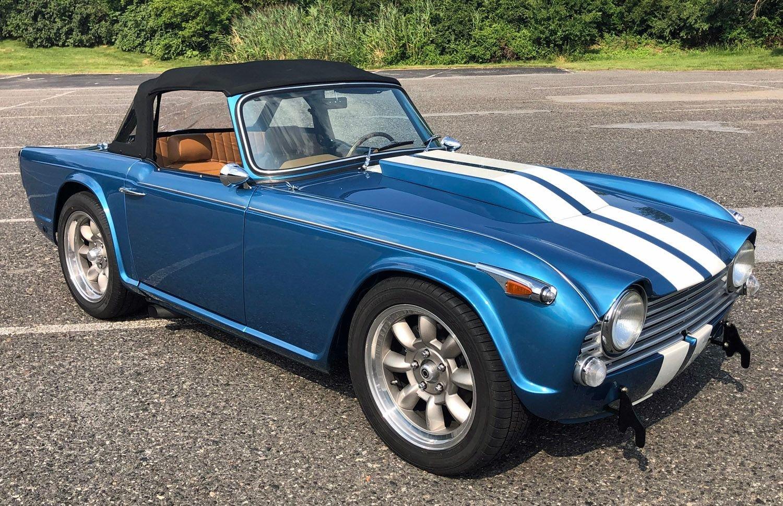 1966 triumph tr4 a