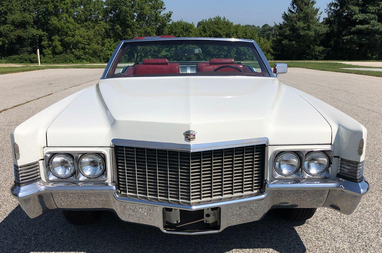 Details about 1970 Cadillac DeVille Convertible