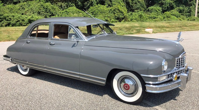 1949 packard custom eight touring sedan