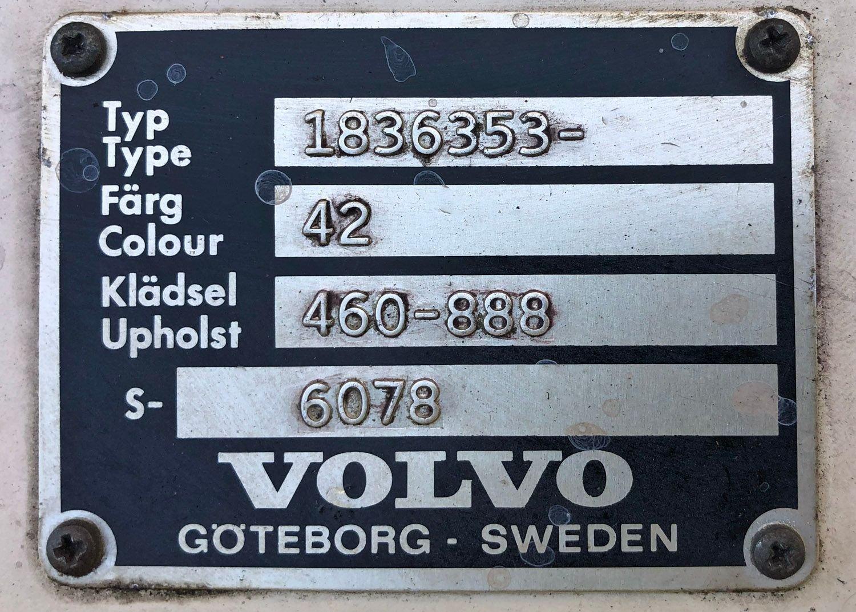1973 Volvo 1800ES Sport Wagon