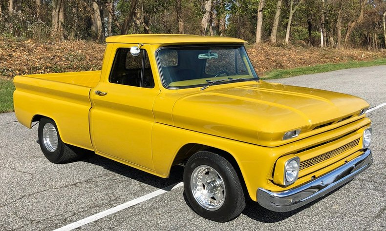 1965 chevrolet c10 fleetside short bed