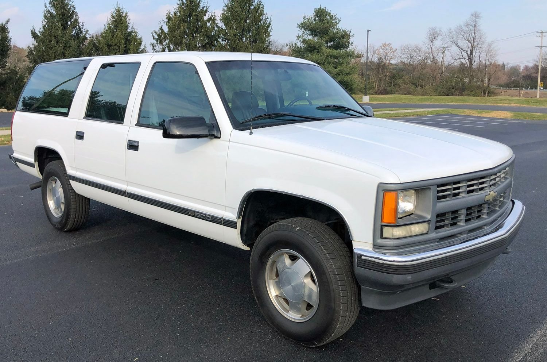 1996 chevrolet suburban k1500 4x4