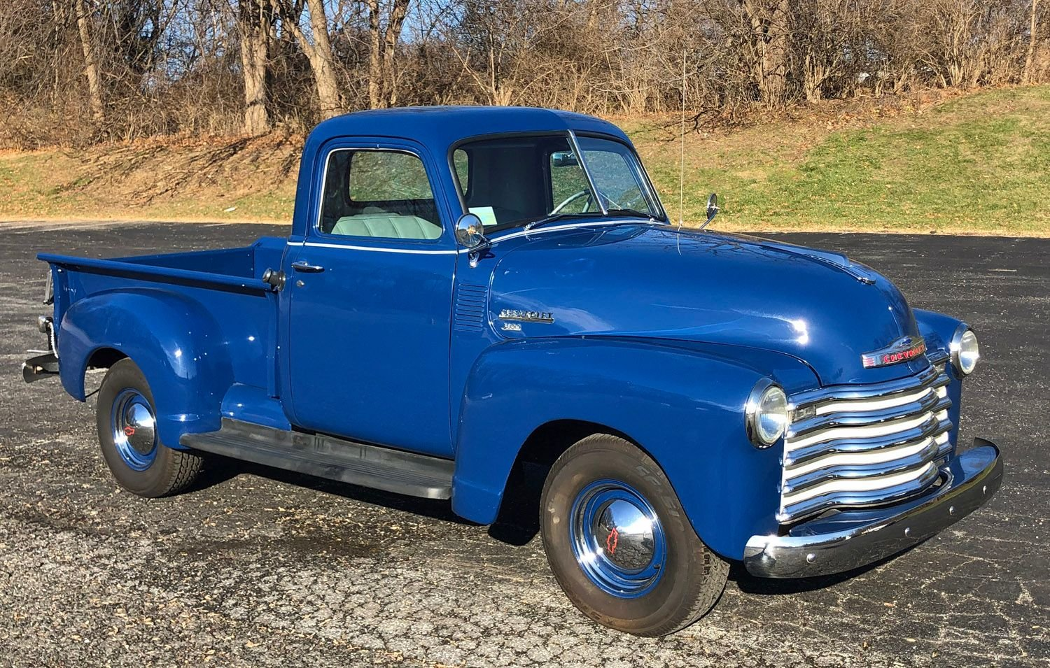 1949 chevrolet 3100 1 2 ton pick up