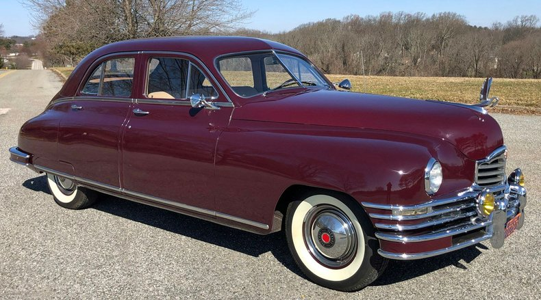 1948 packard deluxe touring sedan