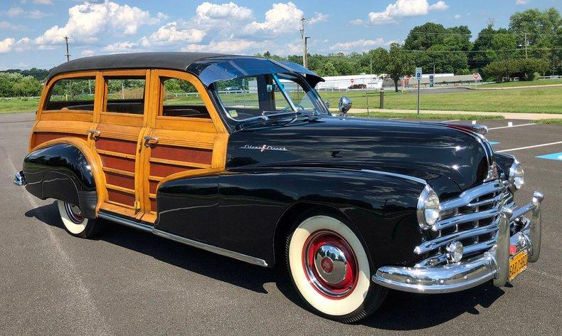1948 pontiac silverstreak woodie wagon
