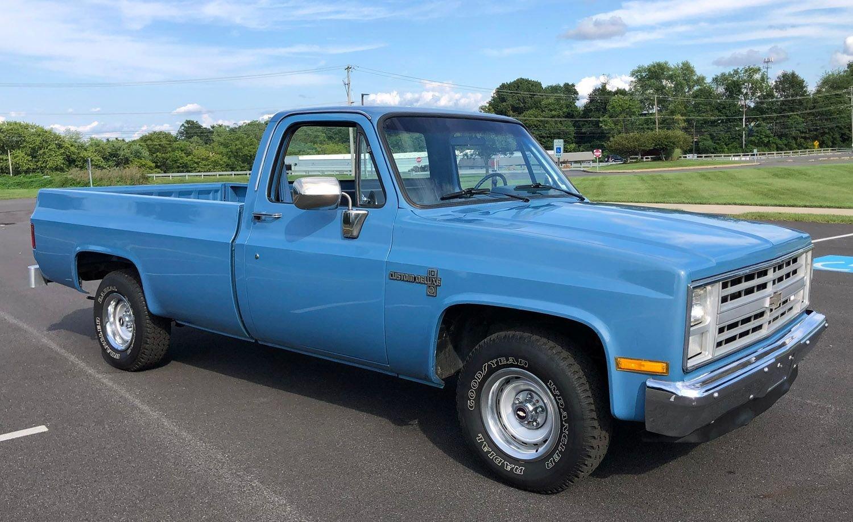 1985 chevrolet 1 2 ton pickup