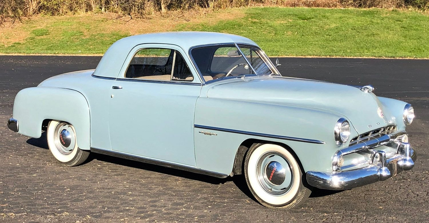 1952 dodge wayfarer 3 window coupe
