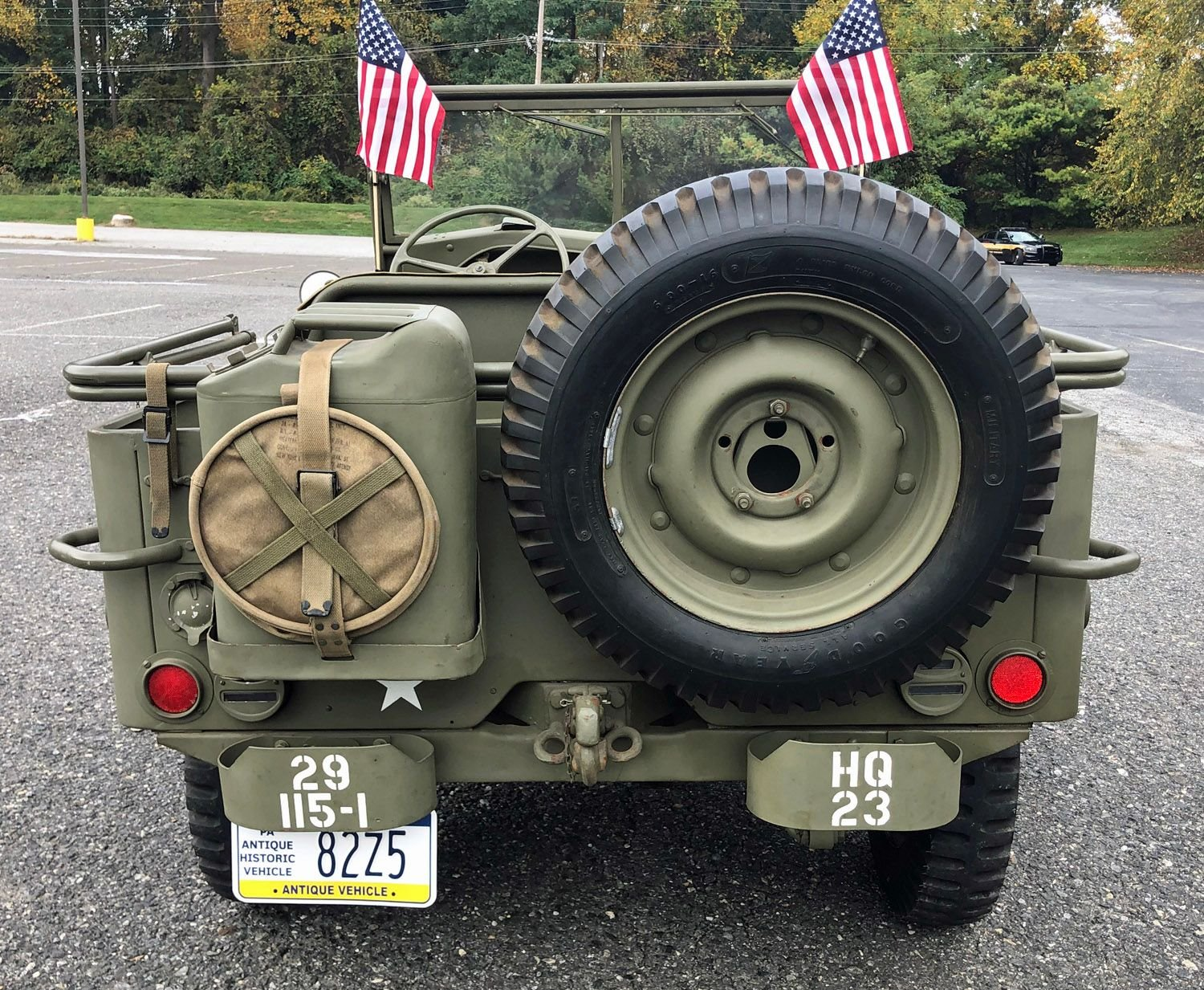1942 Willys Military Jeep