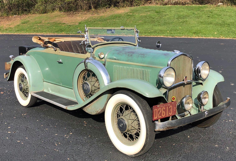 1931 desoto deluxe sports roadster