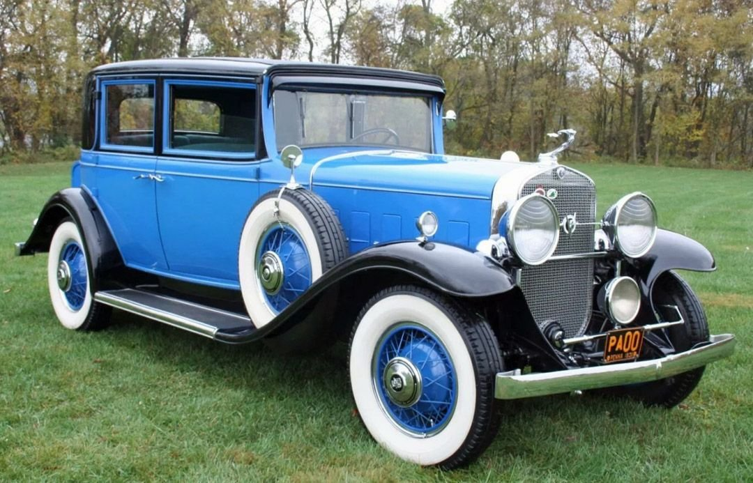1931 cadillac 355 town sedan