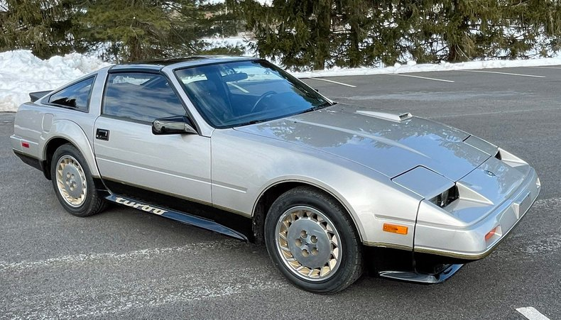 1984 nissan 300zx turbo anniversary edtiton