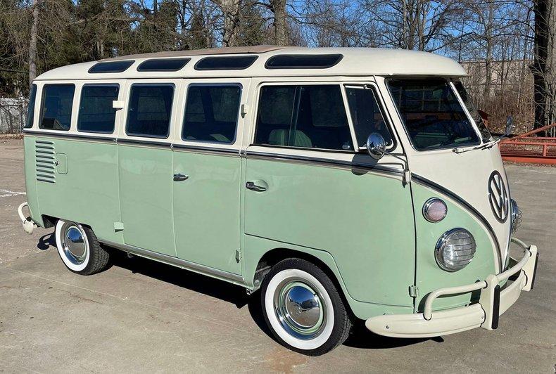 1964 volkswagen 23 window bus brazilian