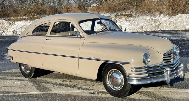1949 packard eight 2 door fastback sedan