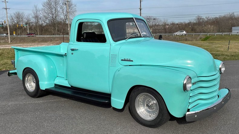 1953 chevrolet 3100 1 2 ton pick up