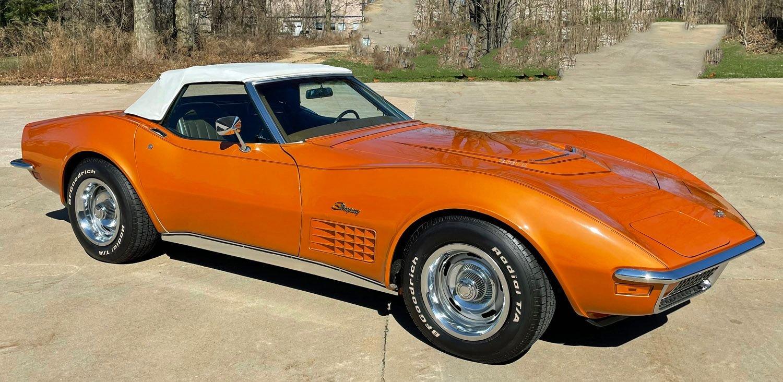 1972 chevrolet corvette lt1 convertible