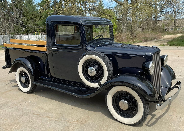1934 chevrolet 1 2 ton pickup