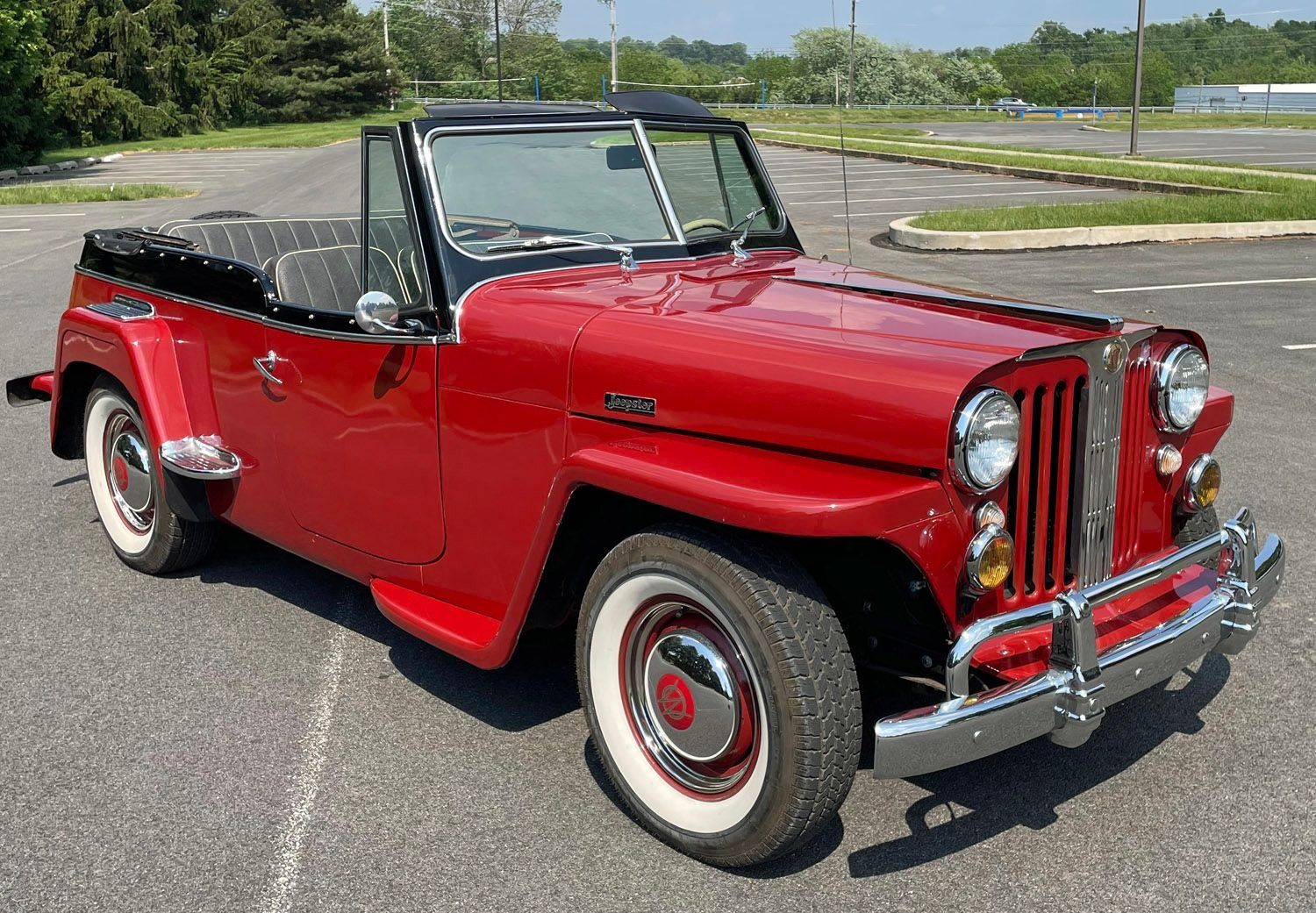 1948 willys jeepster convertible