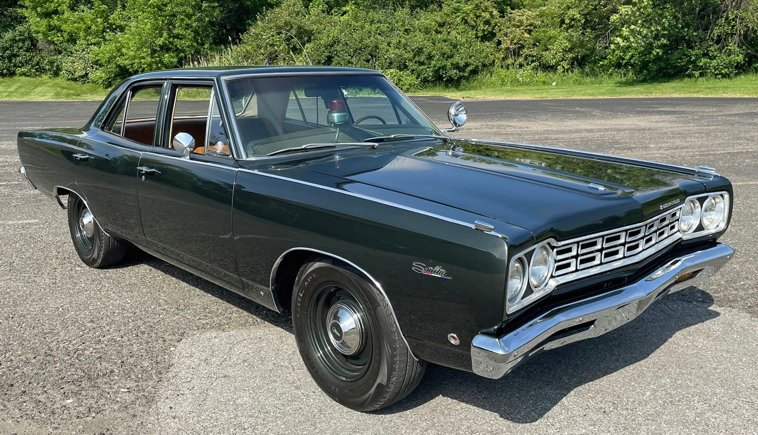 1968 plymouth belvedere police car