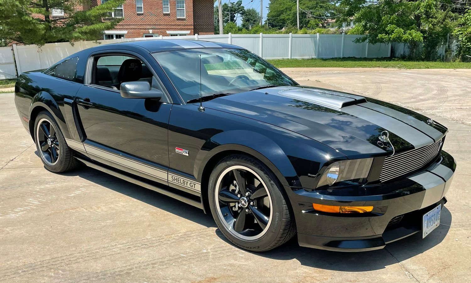 2007 ford shelby gt mustang