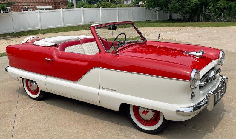 1954 nash metropolitan convertible