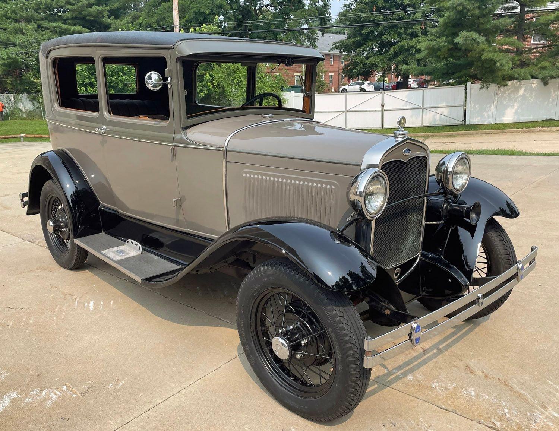 1931 ford model a two door sedan