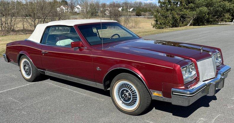 1985 buick riviera convertible